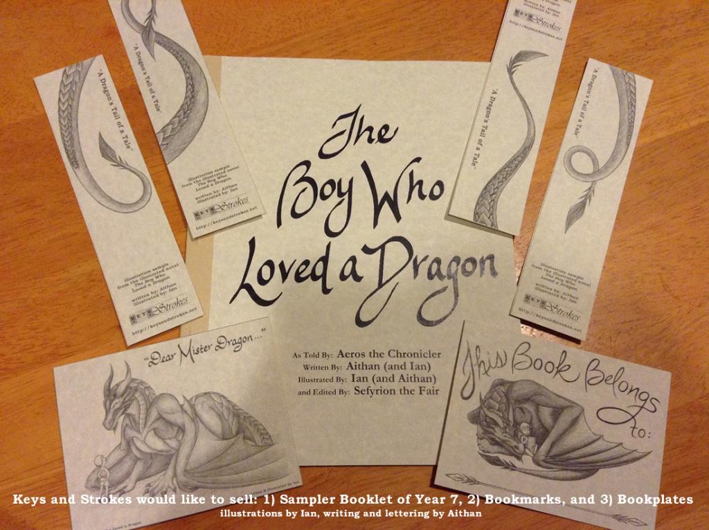TBWLaD - Booklet Sampler, Bookmarks, Bookplates